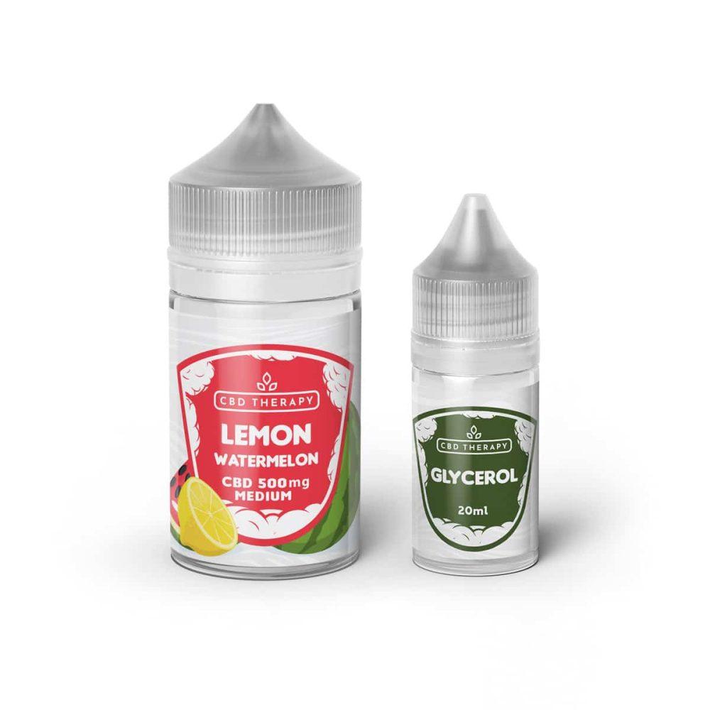 E Liquid CBD LemonWatermelon Glicerolo